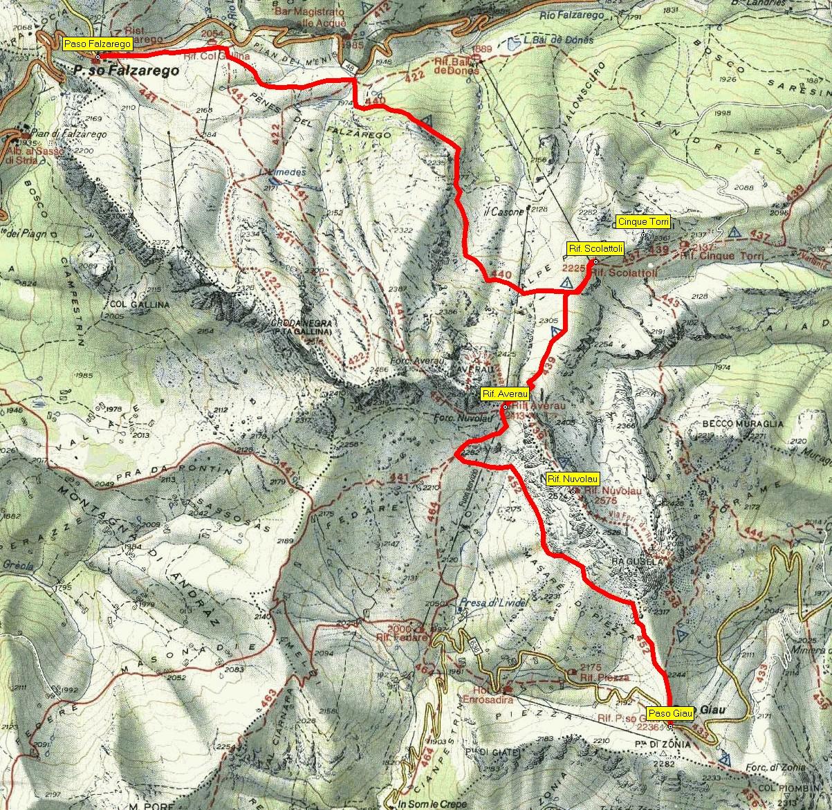 Toulky Dolomity