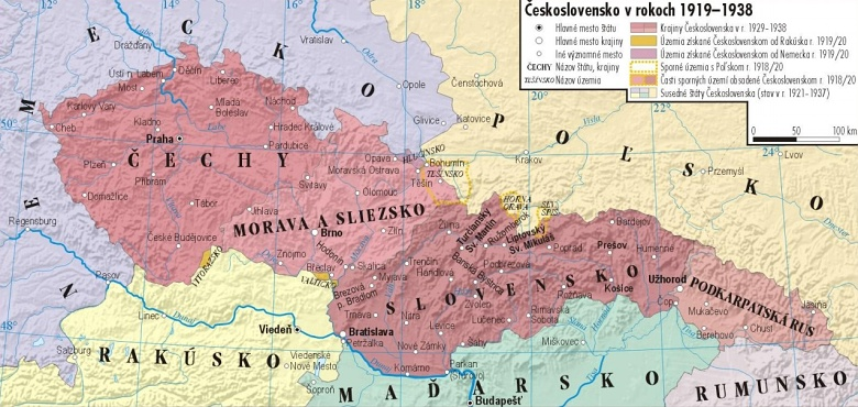 Toulky Zakarpatska Ukrajina Brezen 2019